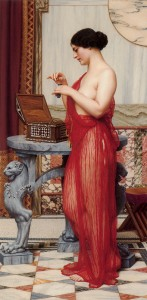 John William Godward - The New Perfume 1914